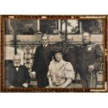 King D. Carlos l, Queen Dona Amelia, Crown Prince D. Luís Filipe, Infante D. Afonso Henriques (