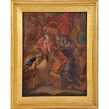 The Child Jesus crowns Saint Joseph