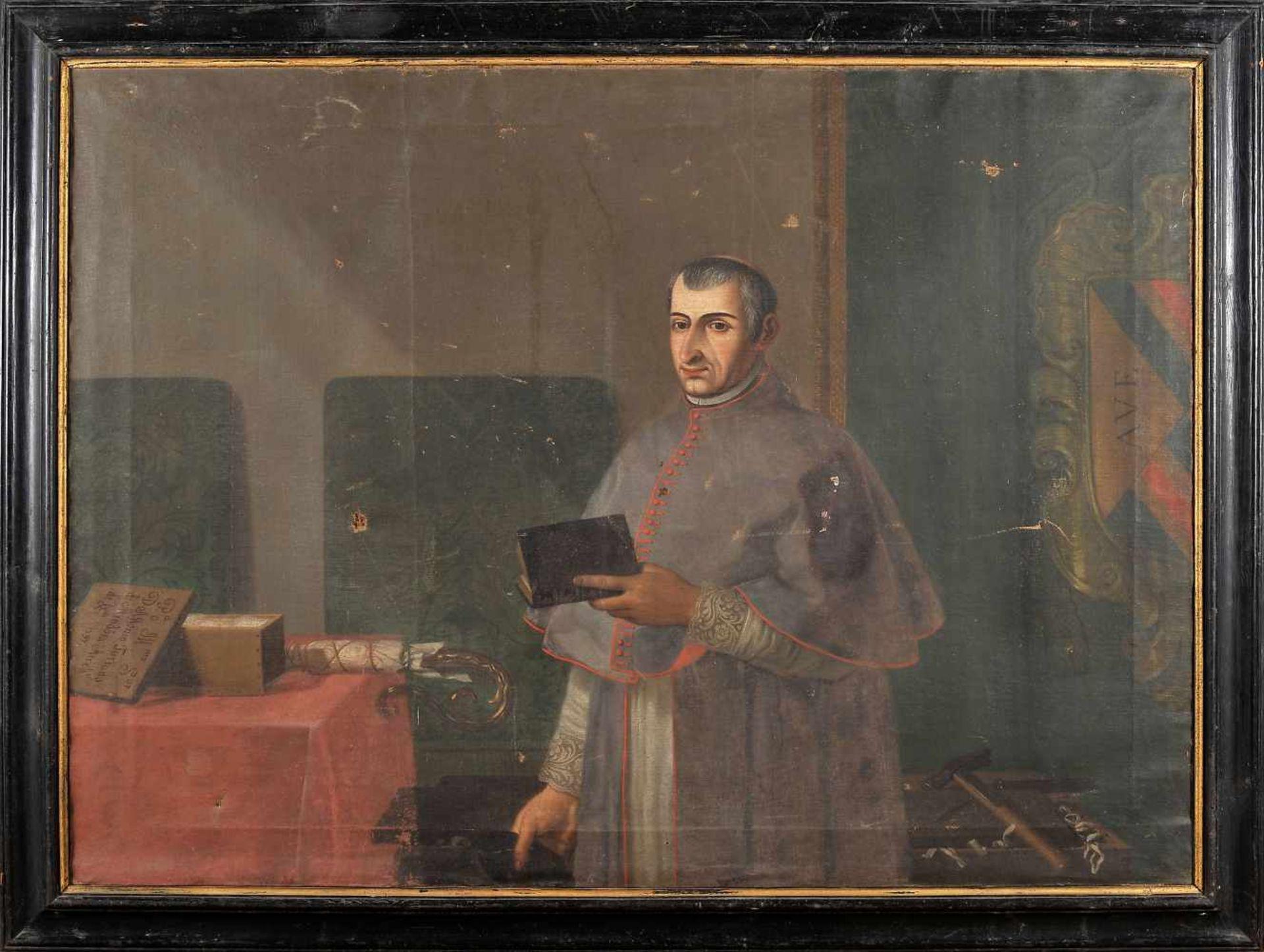 Los 79 - Portrait of D. Afonso Furtado de Mendonça - c. 1561-1630 - Rector of the University of Coimbra...