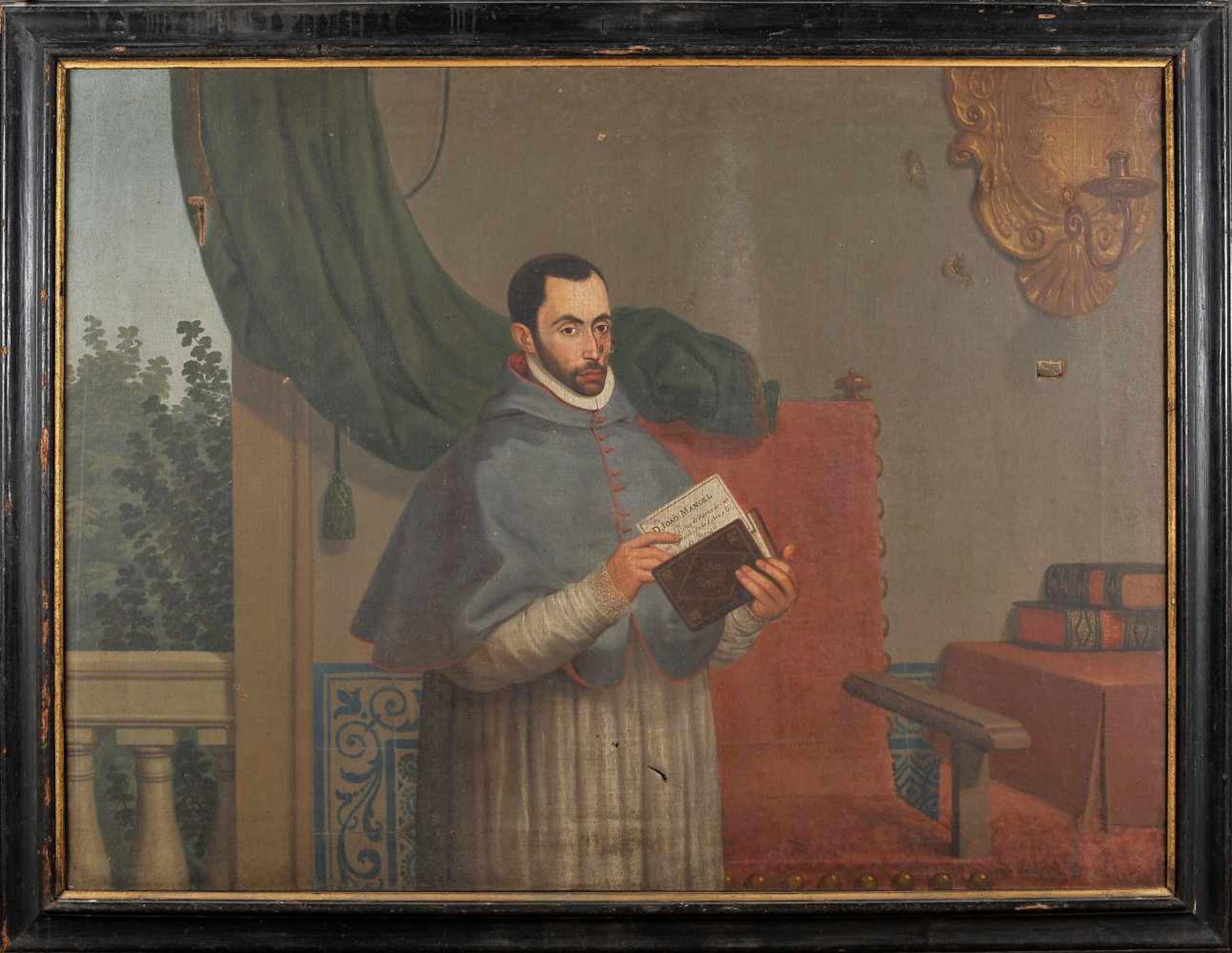 Portrait of D. João Manoel - c. 1570-1633 - Bishop of Viseu, Bishop of Coimbra, Count of Arganil,