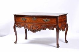 A Side TableA Side Table, D. José I, King of Portugal (1750-1777), carved Brazilian rosewood,