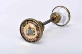 Brazilian imperial palace door handles