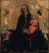 Jacobello del Fiore (Venezia 1370-1439), Madonna con Bambino e angeli - olio su [...]