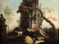 Christian Wilhelm Ernst Dietrich (Weimar 1712 - Dresda 1774), attribuito a, Paesaggi [...]