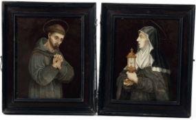 Giovanni Battista Castello (Genova 1547-1637/39), San Francesco e Santa Chiara - [...]