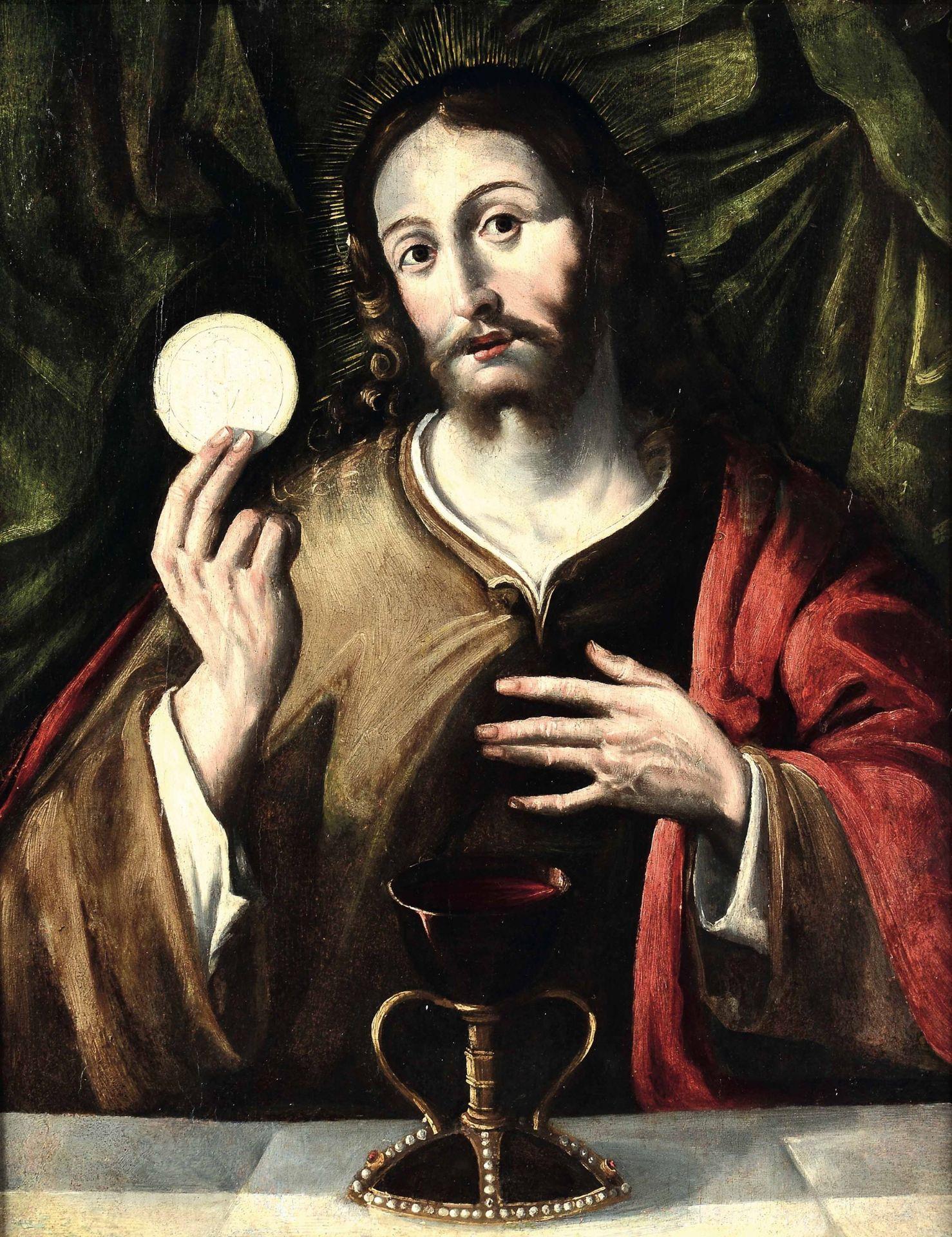 Los 12 - Andrea Mainardi detto il Chiaveghino (Cremona 1550-1620 ca), Cristo sacerdote che [...]