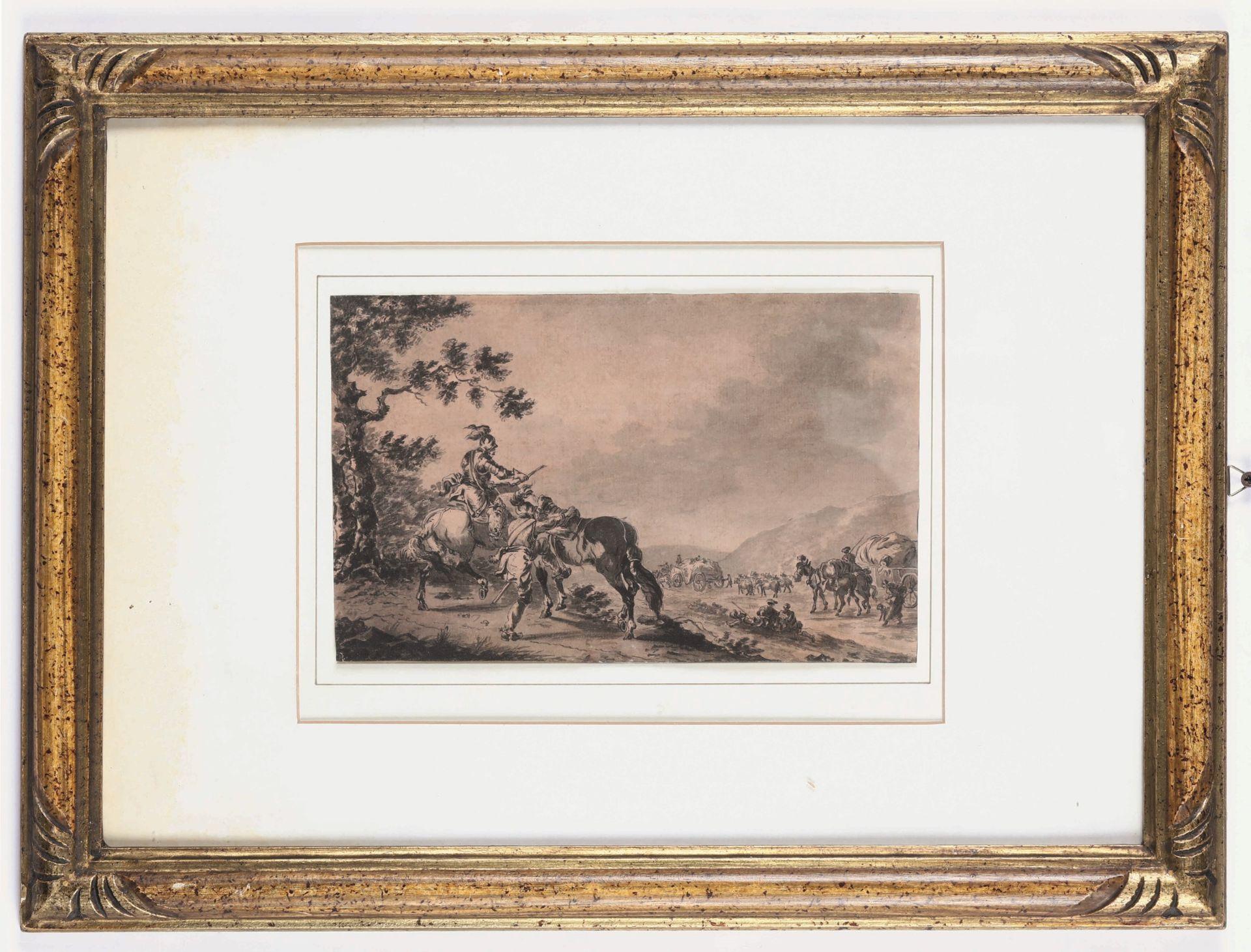 Los 4 - Giuseppe Zais (Forno di Canale 1709 - Treviso 1784), Personaggi a cavallo - [...]