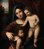 Gianfrancesco Tura detto Tura Mantovano (Mantova 1485 ca–1542 ca), Madonna con [...]