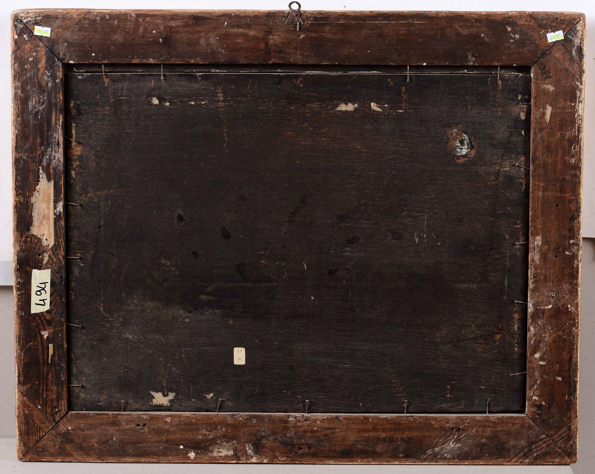 Los 33 - Scuola olandese del XVII secolo, Paesaggio con viandanti e architteture - olio su [...]