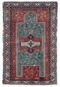 Tappeto Fakralo, Caucaso seconda metà XIX secolo, - al centro della nicchia verde, [...]