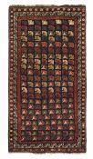 Tappeto Zeichur, Caucaso fine XIX secolo, - particolare il campo con file di [...]