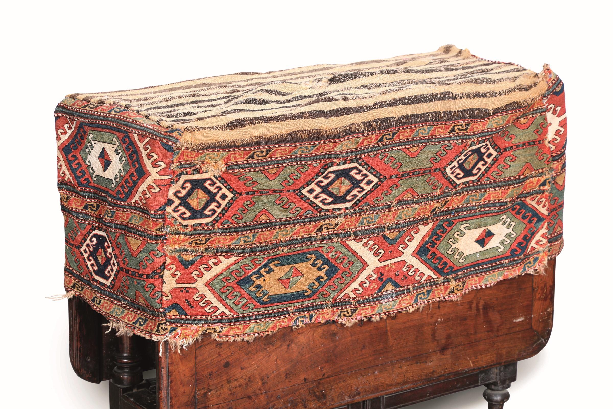 Sacca Kilm, Caucaso fine XIX secolo, - cm 93x48x37 -