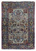 Tappeto Isfahan, Persia fine XIX secolo, - campo con decoro floreale cm 179x122 -