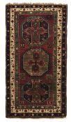 Tappeto Lori Pambak, Caucaso prima metà XX secolo, - campo mattone con tre [...]