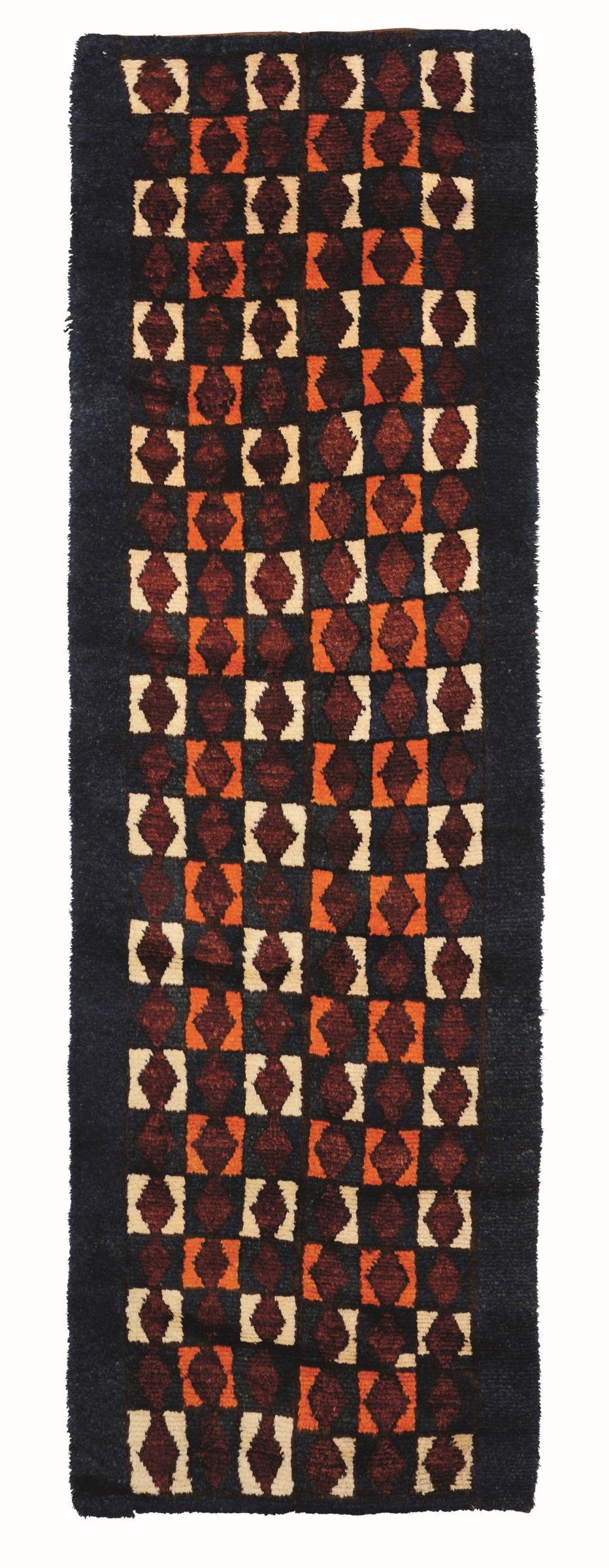 Passatoia, Uzbekistan inizio XX secolo, - venivano eseguiti su piccoli telai [...]