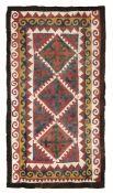 Feltro Shydak, Kirzikistan 1860-1870 circa, - esemplare raro per le dimensioni [...]
