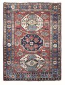 Tappeto Kazak Lori Pombak fine XIX inizio XX secolo, - campo con tre medaglioni due [...]