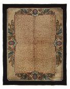 Particolare tappeto Pechini, Cina inizio XX secolo, - campo beige con ramage di [...]