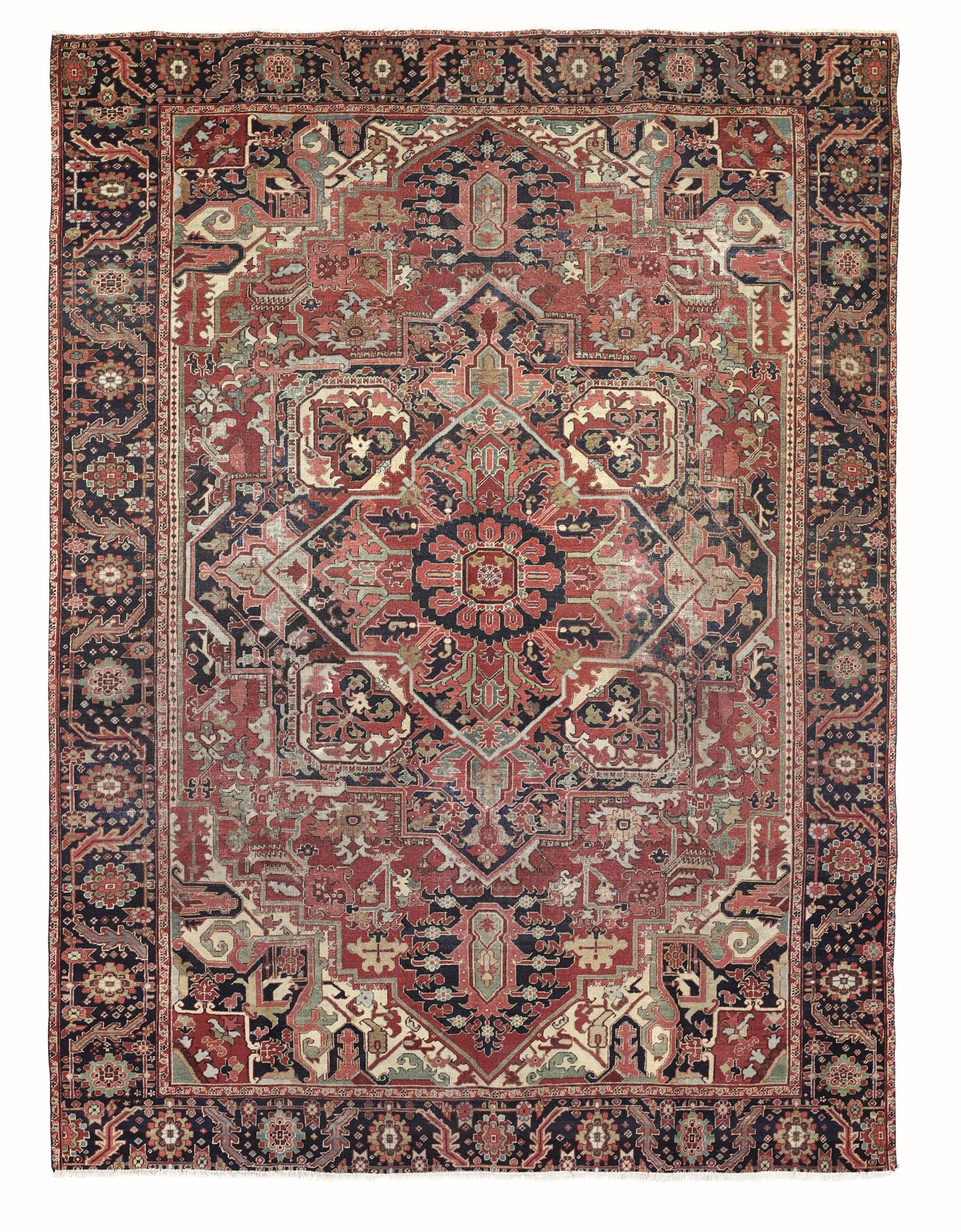 Tappeto Heritz, nord ovest Persia fine xIX secolo, - impianto classico con [...]