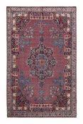 Particolare tappeto Dorosh, Persia fine XIX inizio XX secolo, - campo con medaglione [...]