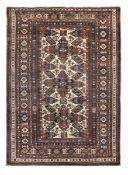 Tappeto Shirvan, Caucaso fine XIX inizio XX secolo, - campo bianco con croci di Sant [...]