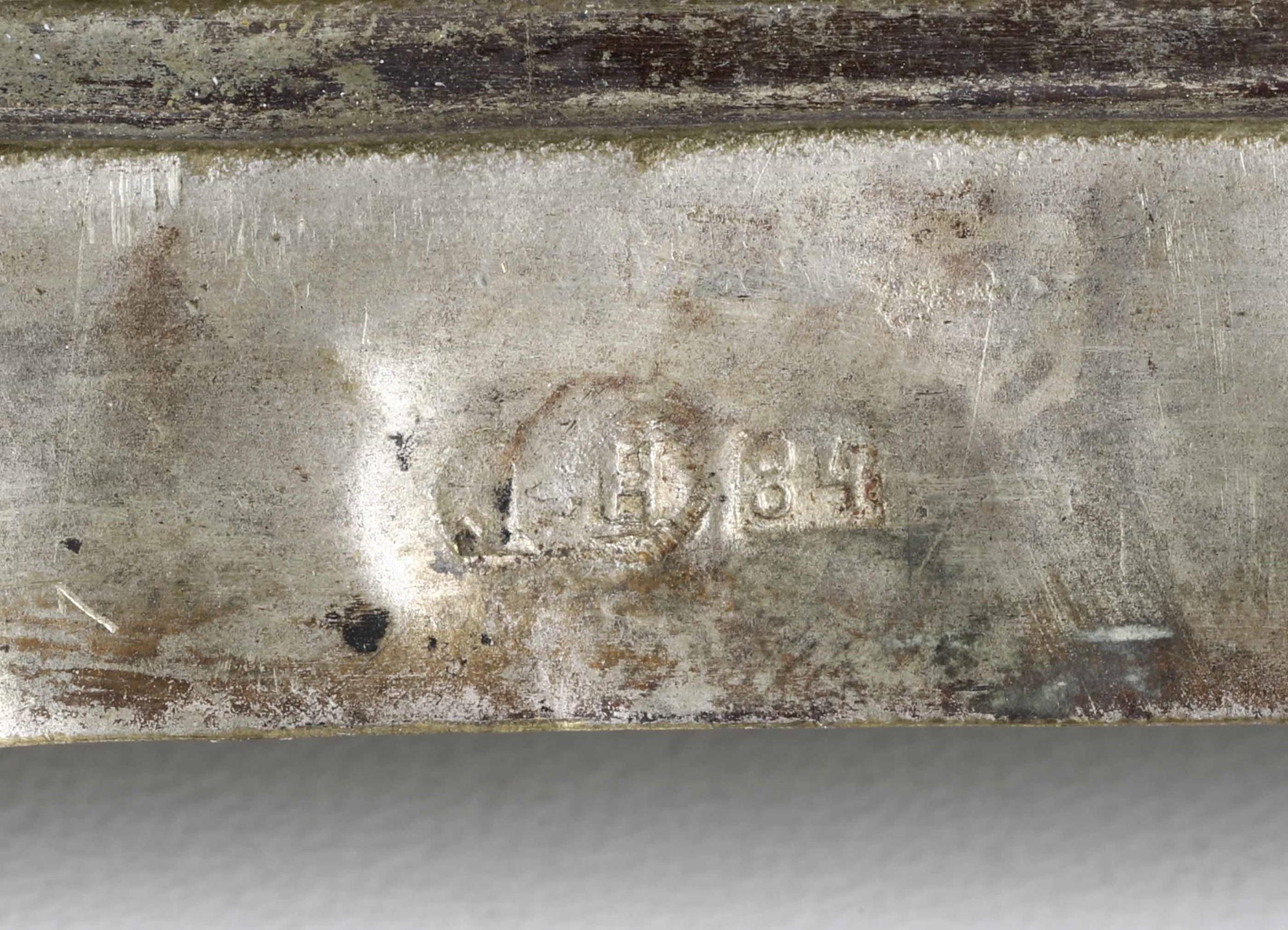Icona con riza in argento sbalzato e cesellato raffigurante San Nicola. Russia XIX-XX [...] - Image 2 of 4