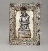 Cristo risorto. Oreficeria rinascimentale Italiana, fine XV secolo, - cm 18x14 [...]