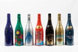 Taittinger, Champagne Brut Collection, - (7 Bts) 1981 1 Bt 1982 1 Bt 1983 1 Bt 1986 [...]