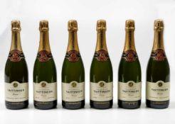 *Taittinger, Champagne, - (6 Bts) 6 Bts WN , (etichette e capsule con segni d'usura [...]