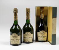 Taittinger, Comtes de Champagne Blanc de Blancs, - (3 Bts) 1981 3 Bts BN 1 OC , [...]