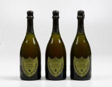 Moet et Chandon, Dom Perignon, - (3 Bts) 1980 3 Bts BN, (etichette e capsule con [...]