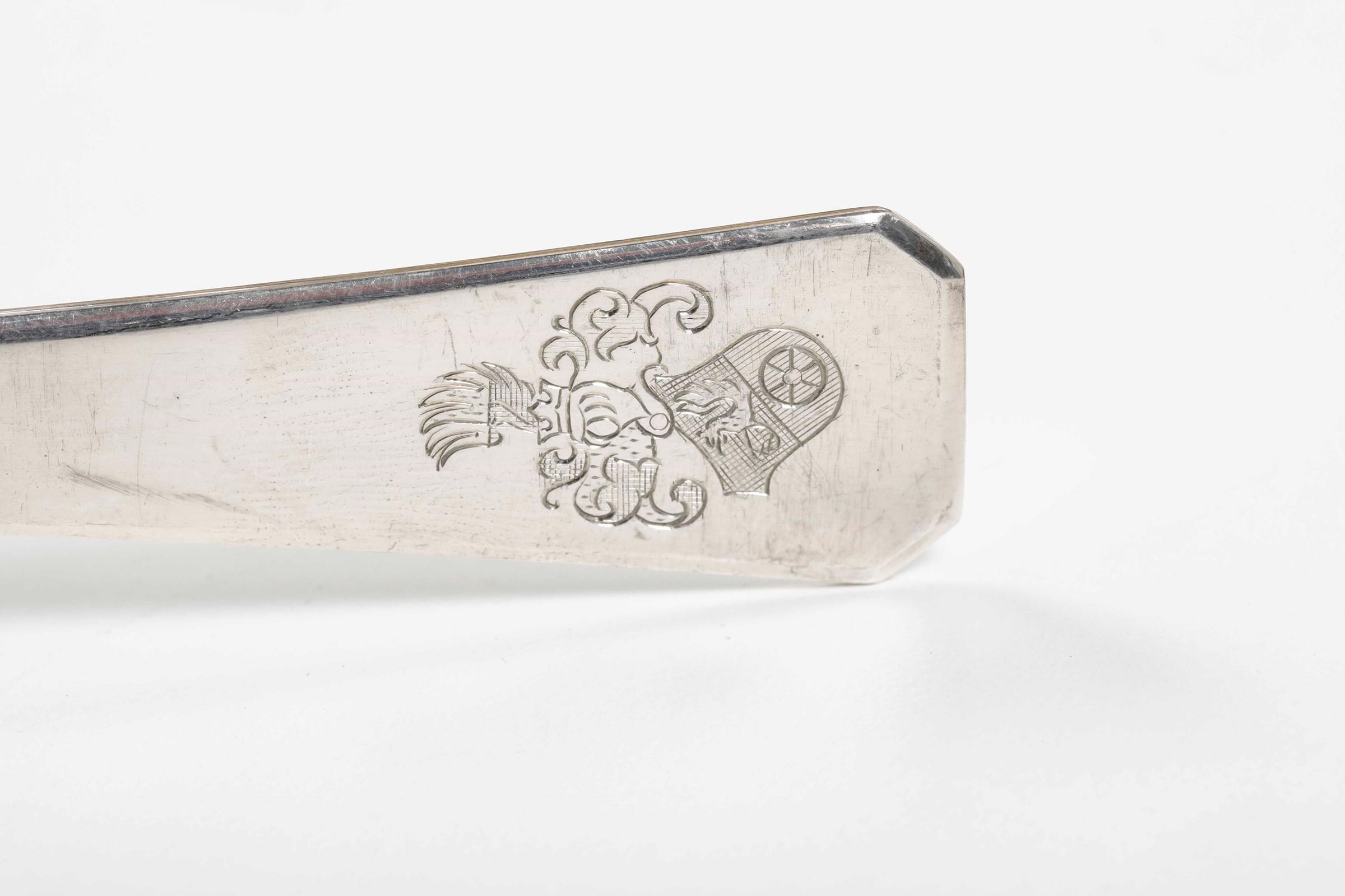 Servizio di posate in argento per sei coperti. Impero austro-ungarico (Polonia?) [...] - Image 4 of 5