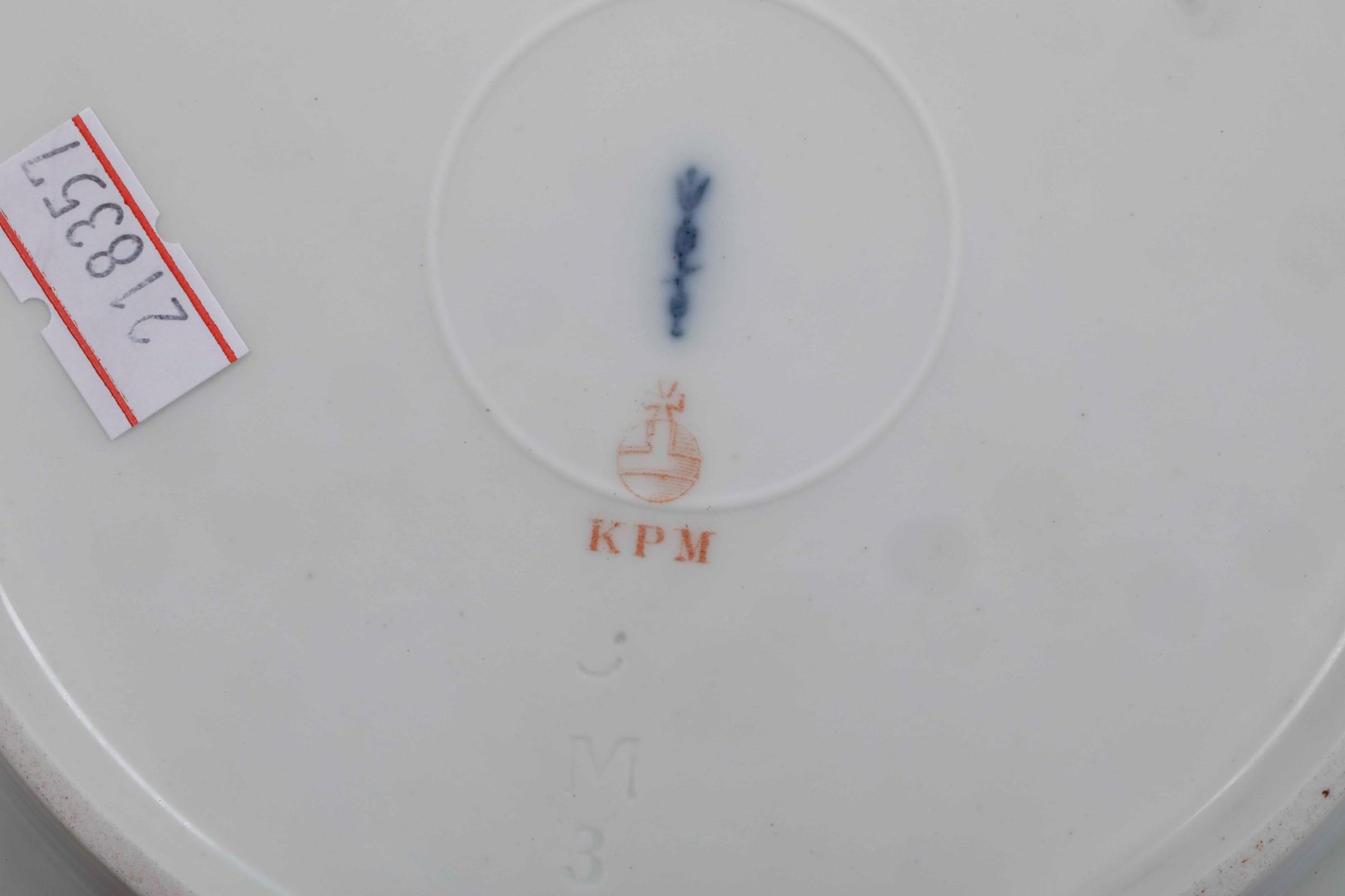 """Servizio da tavola """"Potsdam"""" Berlino, Manifattura Reale, 1940 circa, - Porcellana. [...] - Image 2 of 2"""