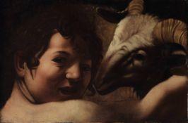 Michelangelo Merisi detto il Caravaggio (Milano 1571 - Porto Ercole 1610), copia da, [...]