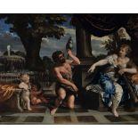 Pietro Berrettini detto Pietro da Cortona (Cortona 1596 - Roma 1669), Ercole e Onfale [...]