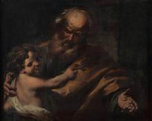 Giovanni Battista Beinaschi (Cuneo 1636 - Napoli 1688), San Giuseppe con Gesù [...]