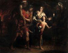 Domenico Fiasella (Sarzana 1589-1669), Enea e Anchise - olio su tela, cm 230x190, Il [...]