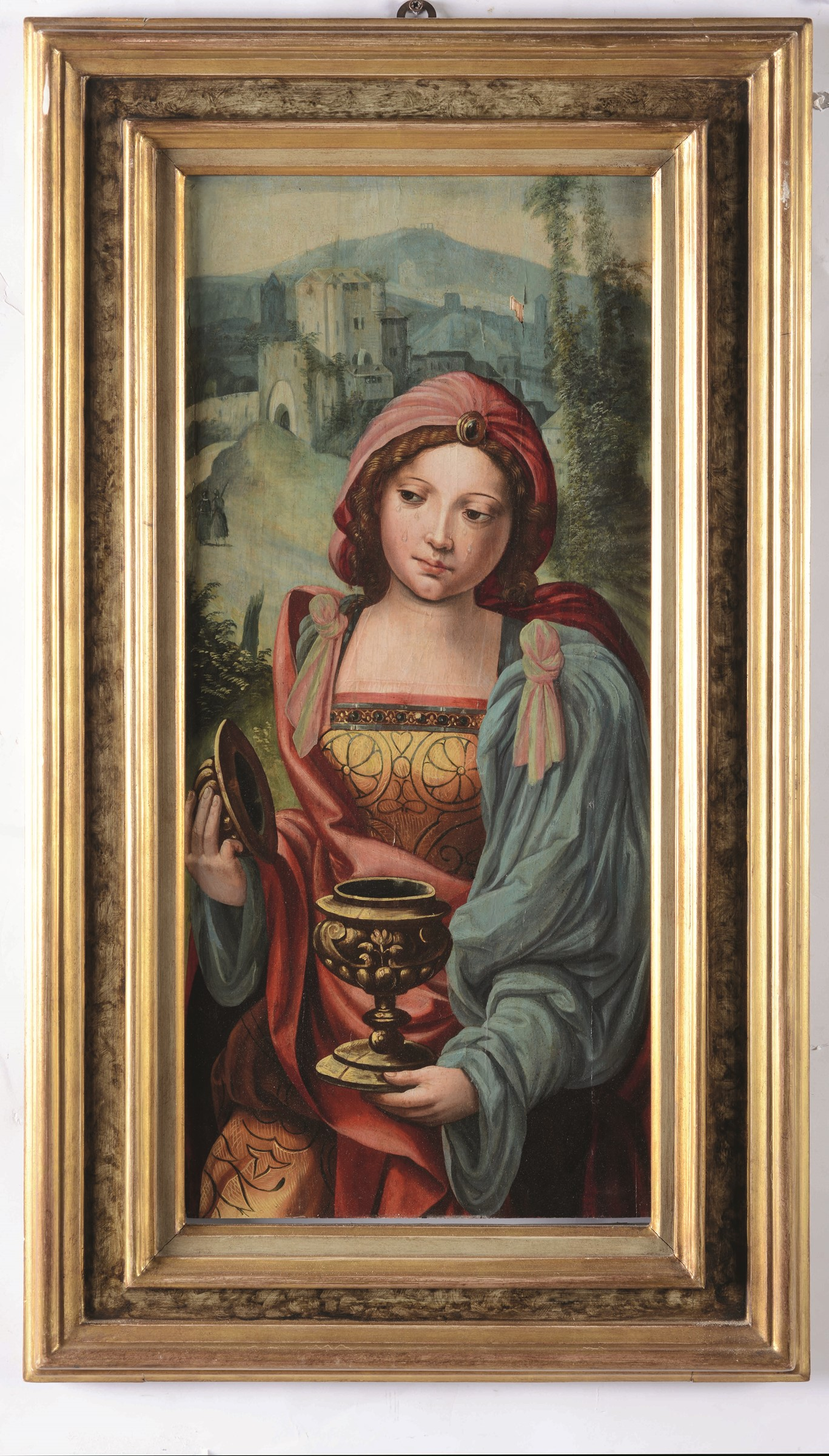 Marten Jacob Van Heemskerk (Heemskerk 1498 - Haarlem 1574), Maddalena - olio su [...] - Image 3 of 3