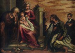 Andrea Medolla detto lo Schiavone (Zara 1510-1563), Sacra conversazione con [...]