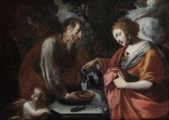 Luigi Miradori detto il Genovesino (Genova 1605 - Cremona 1659), Rebecca ed Eliezer [...]