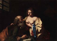 Giovanni Francesco Barbieri detto il Guercino (Cento 1591 - Bologna 1666), Carità [...]