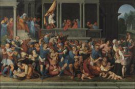 Giuseppe Cesari detto il Cavalier d'Arpino (Arpino 1568 - Roma 1640), Strage degli [...]