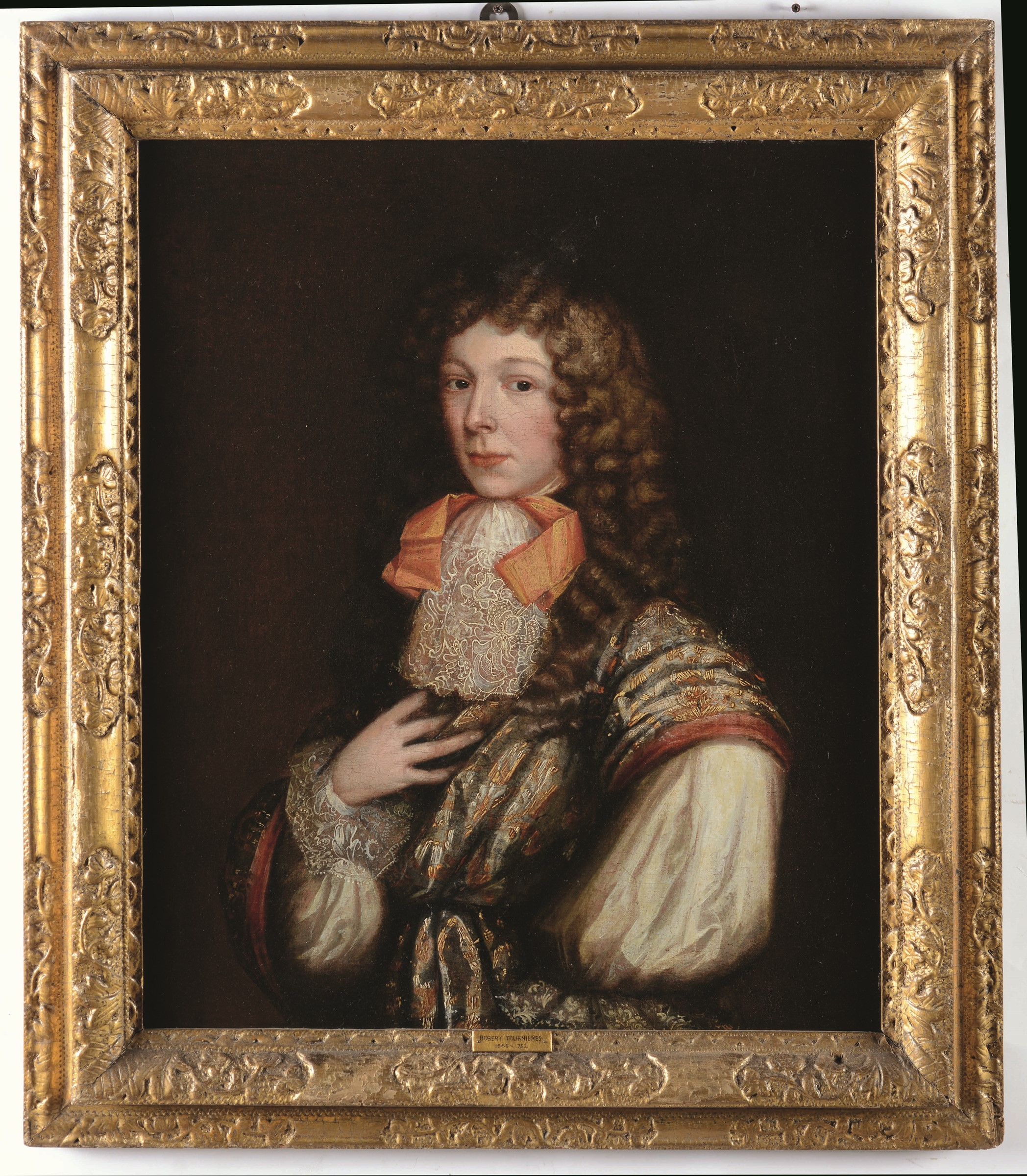 Scuola del Nord Europa della fine del XVII secolo, Ritratto di giovinetto - olio su [...] - Image 3 of 3