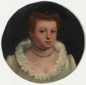Francesco Montemezzano (Verona 1555-1600), attribuito a, Ritratti di coniugi - olio [...]
