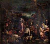 Jacopo da Ponte detto Jacopo Bassano (Bassano del Grappa, 1510-1592), Adorazione dei [...]