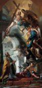 Giambattista Tiepolo (Venezia 1696 - Madrid 1770), attribuito a, San Clemente e la [...]