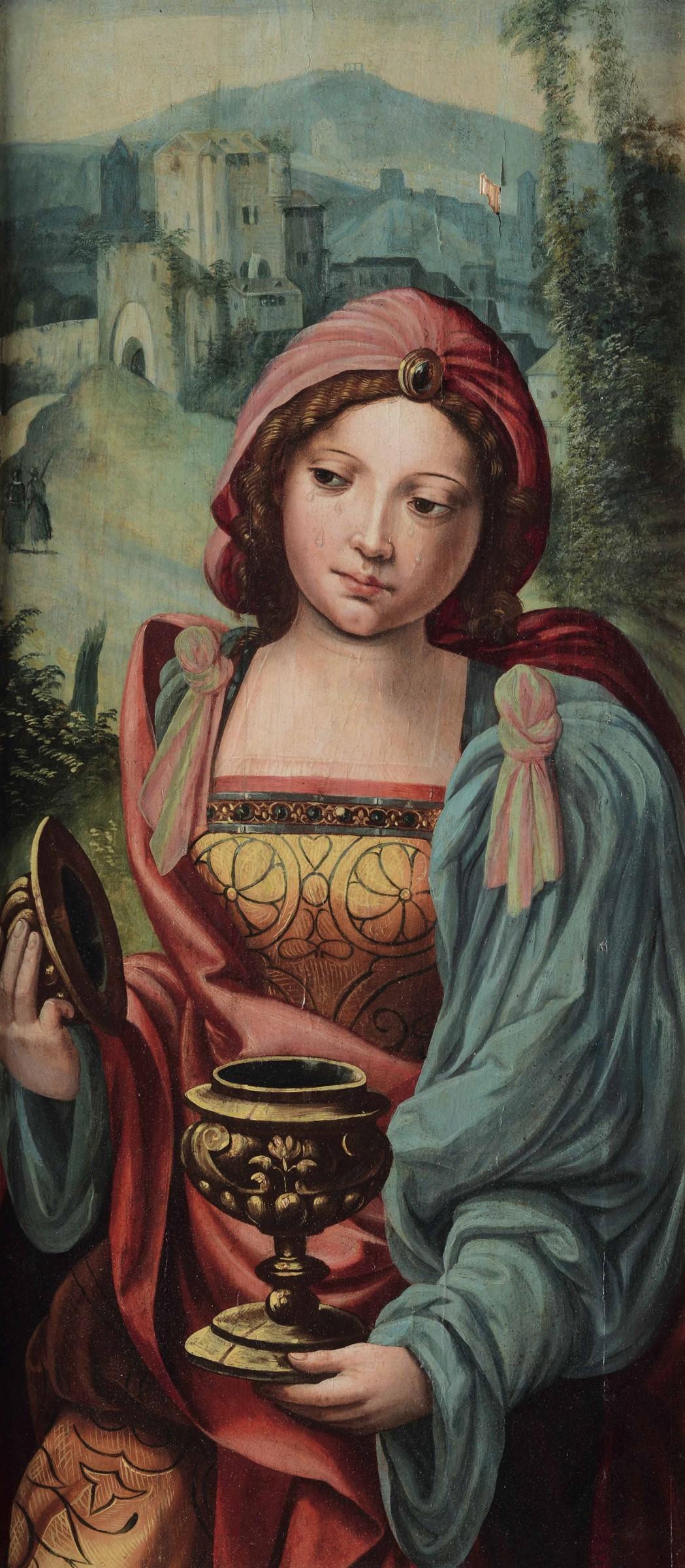 Marten Jacob Van Heemskerk (Heemskerk 1498 - Haarlem 1574), Maddalena - olio su [...]