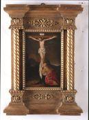 Jan Mostaert (Haarlem 1475-1555/1556), Maddalena ai piedi della croce - olio su [...]