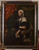 Scuola bolognese del XVII secolo, Ritratto di Elisabetta di San Pietro Bentivoglio - [...]
