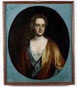Godfrey Kneller (Lubecca 1646 - Londra 1723), Ritratto di dama - olio su tela, cm [...]
